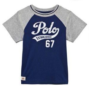 Polo Ralph Lauren Baseball Tee